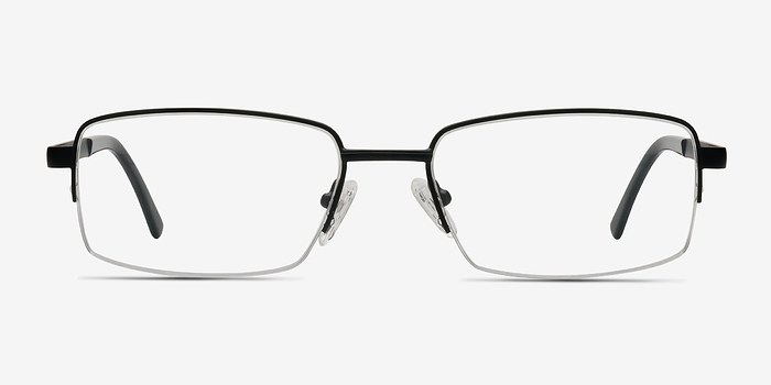 Black Axis -  Metal Eyeglasses