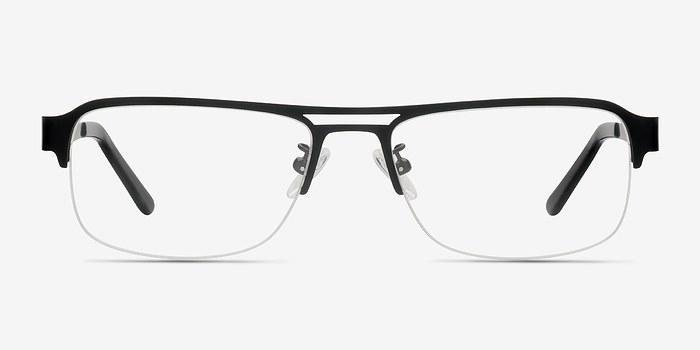 Black Delta -  Metal Eyeglasses