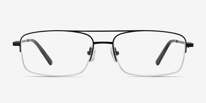 Black Inlet -  Metal Eyeglasses