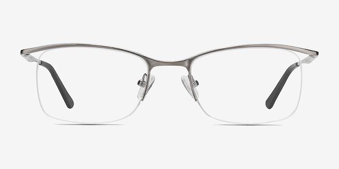 Light Gunmetal Vespid -  Metal Eyeglasses