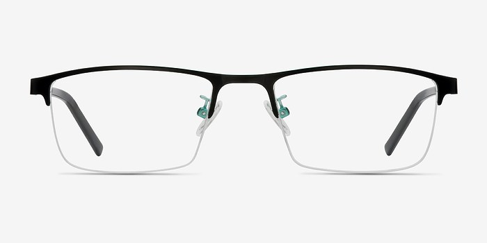 Black Algorithm -  Metal Eyeglasses