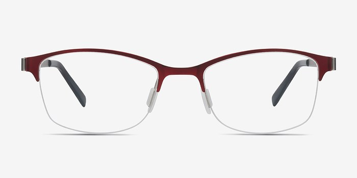 Red Pearl -  Colorful Metal Eyeglasses