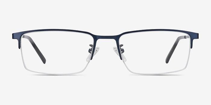 Navy Vienna -  Metal Eyeglasses