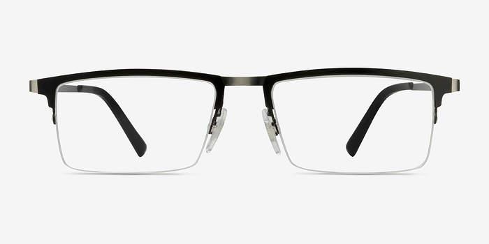 Black Vector -  Metal Eyeglasses