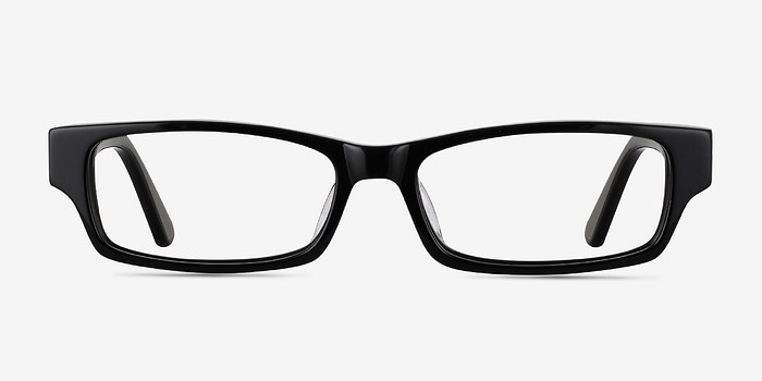 Black Dieppe -  Acetate Eyeglasses