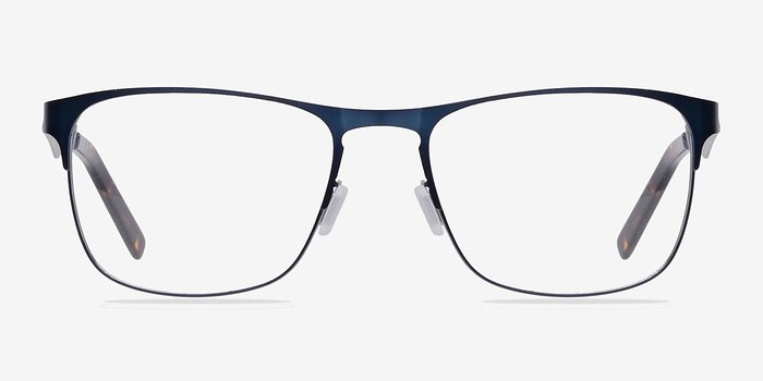 Navy Bethnal Green -  Metal Eyeglasses