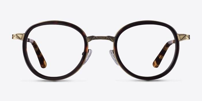Tortoise Bourgeois -  Fashion Metal Eyeglasses