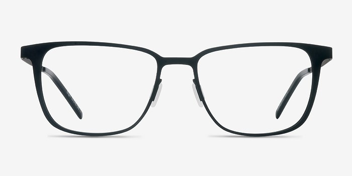 Matte Black Slight -  Metal Eyeglasses