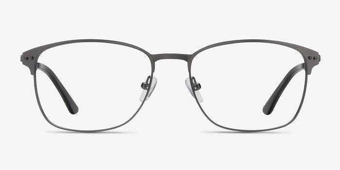 Gunmetal Arcadian -  Metal Eyeglasses