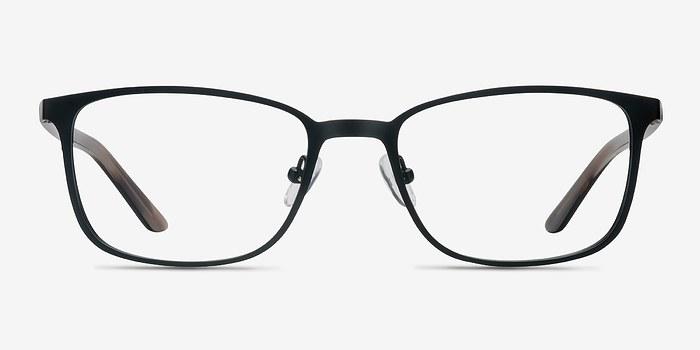 Black Lines -  Metal Eyeglasses