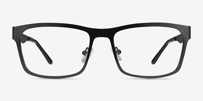 Black Assumption -  Metal Eyeglasses