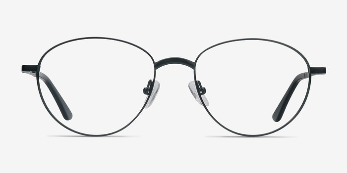 Black Nara -  Metal Eyeglasses