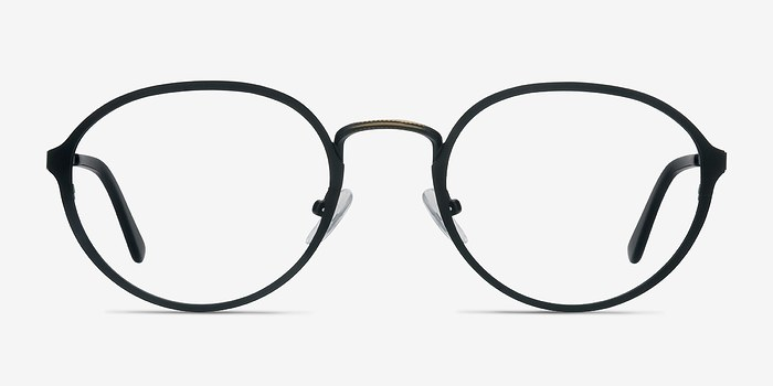 Black Come Around -  Geek Metal Eyeglasses