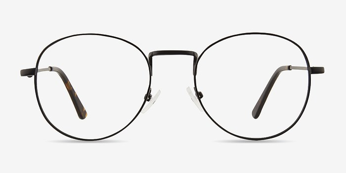 Black Shanghai -  Classic Metal Eyeglasses