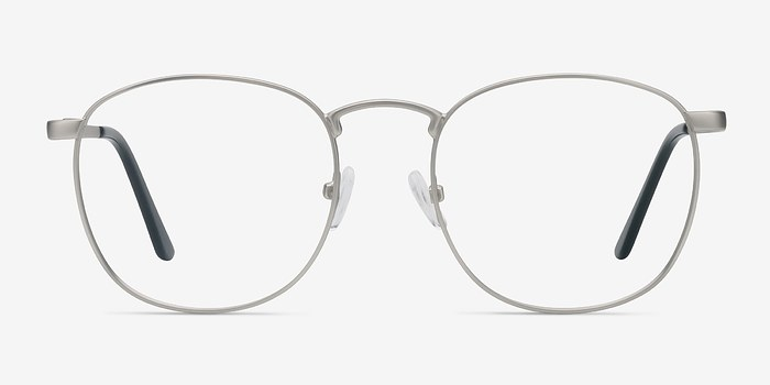 Silver St Michel -  Geek Metal Eyeglasses