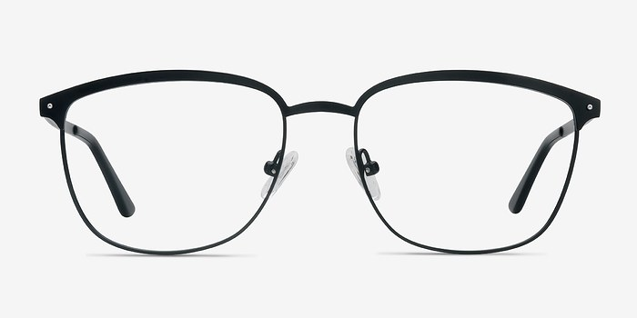 Black Lightbeam -  Metal Eyeglasses