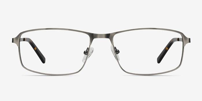 Gunmetal Silver Capacious -  Metal Eyeglasses