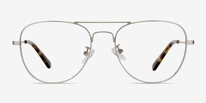 Gunmetal Harrier -  Vintage Metal Eyeglasses