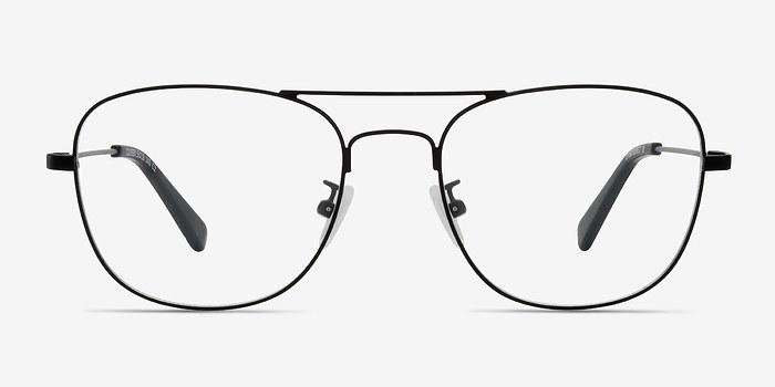 Black Courser -  Metal Eyeglasses