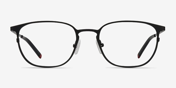 Black Plateau -  Metal Eyeglasses