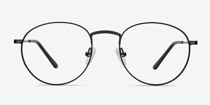 Black Epilogue -  Classic Metal Eyeglasses
