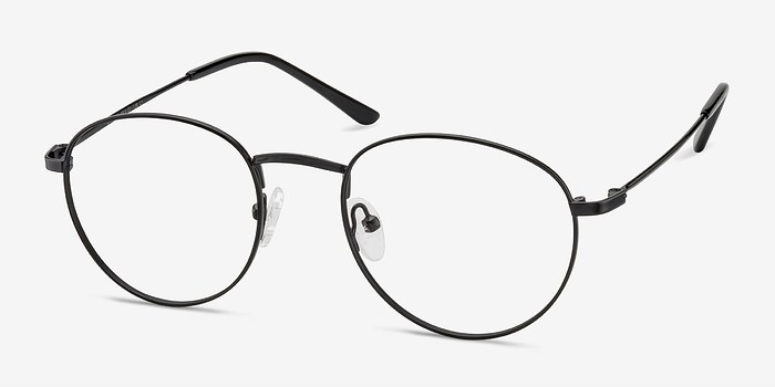 EyeBuyDirect Epilogue Black Metal Eyeglasses