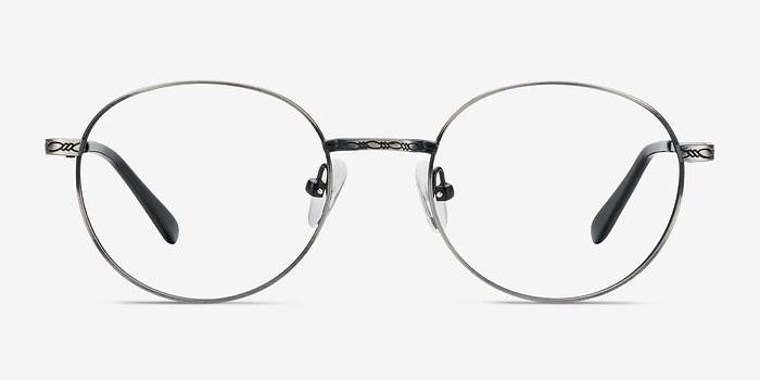 Gray Ledger -  Classic Metal Eyeglasses