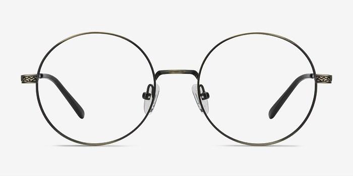 Bronze Inscription -  Metal Eyeglasses