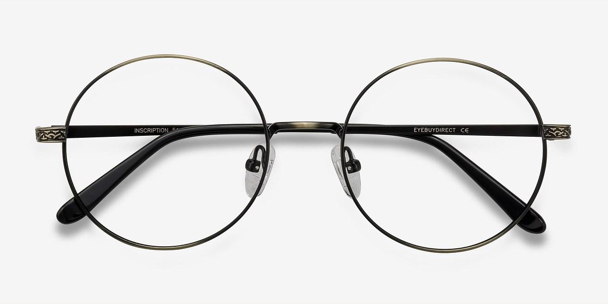 Inscription | Bronze Metal Eyeglasses | EyeBuyDirect