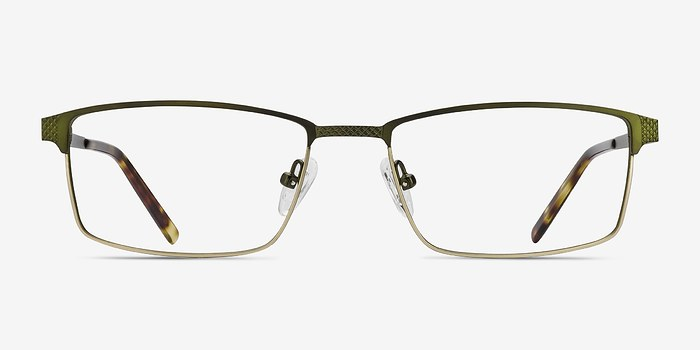 Green Bronze Prime -  Metal Eyeglasses