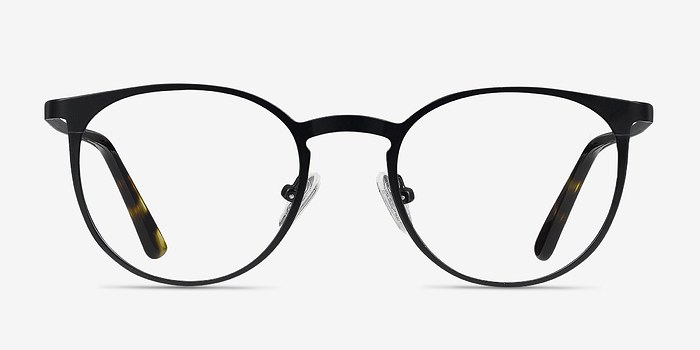 Black Radius -  Metal Eyeglasses