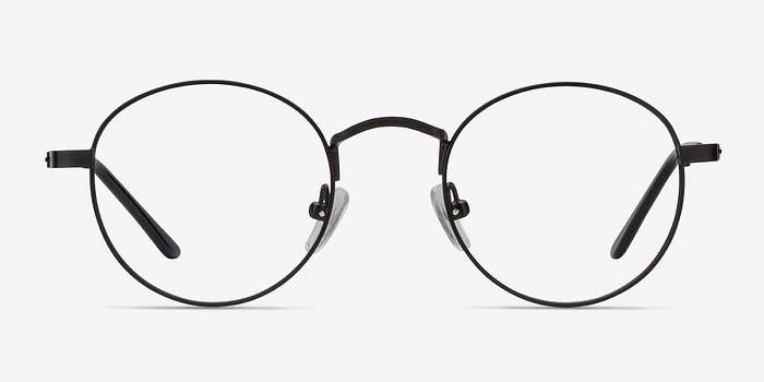 Black Cupertino -  Metal Eyeglasses