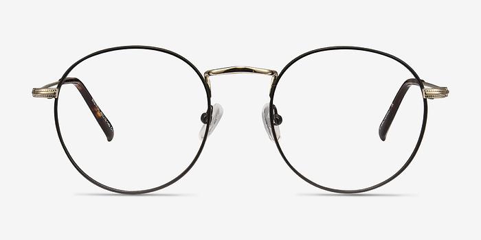 Black Wistful -  Metal Eyeglasses