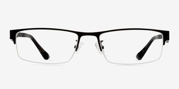 Black Beau -  Classic Metal Eyeglasses