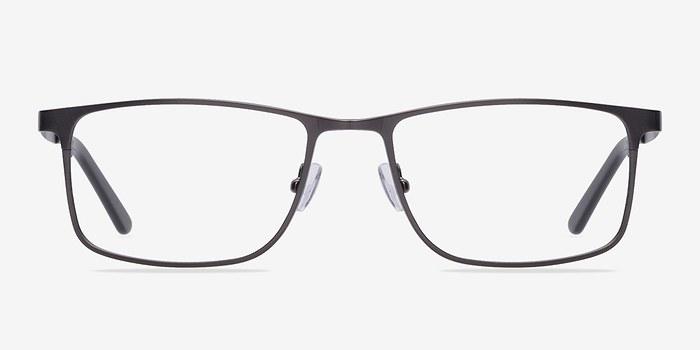 Gunmetal Clinton -  Metal Eyeglasses