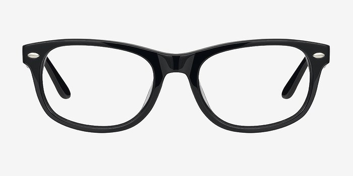 Black HA979 -  Fashion Acetate Eyeglasses