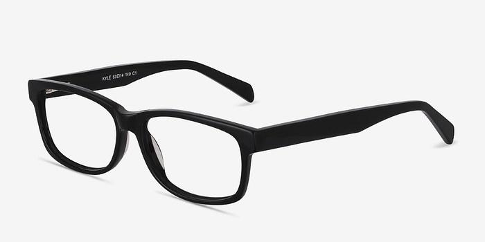 EyeBuyDirect Kyle Black Acetate Eyeglasses