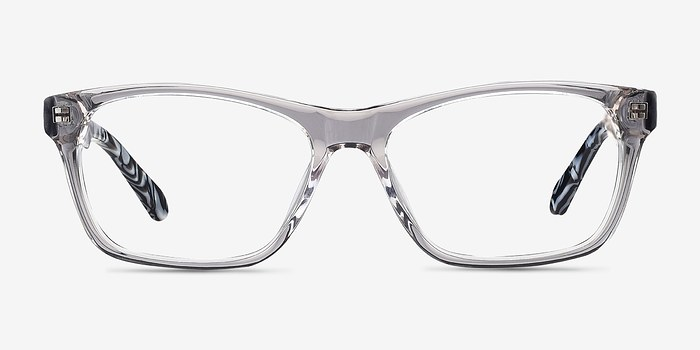 Gray/Clear Alivia -  Fashion Acetate Eyeglasses