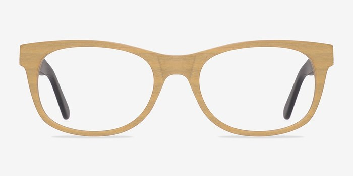 Wood Panama -  Fashion Wood Texture Eyeglasses