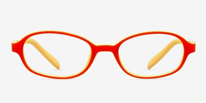 Orange/Yellow Shelli -  Lightweight Plastic Eyeglasses