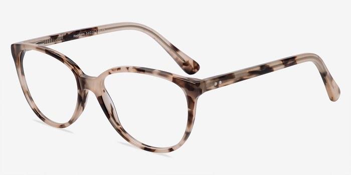 hepburn ivory tortoise acetate eyeglasses