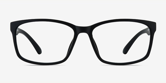 Matte Black Boston -  Classic Plastic Eyeglasses