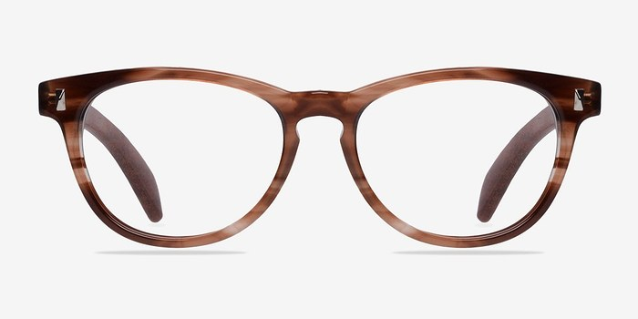 Brown Sahara -  Fashion Wood Texture Eyeglasses
