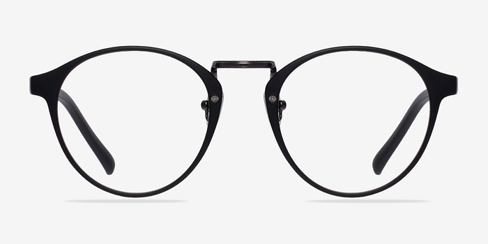 Matte Black/Gunmetal Small Chillax -  Fashion Plastic Eyeglasses