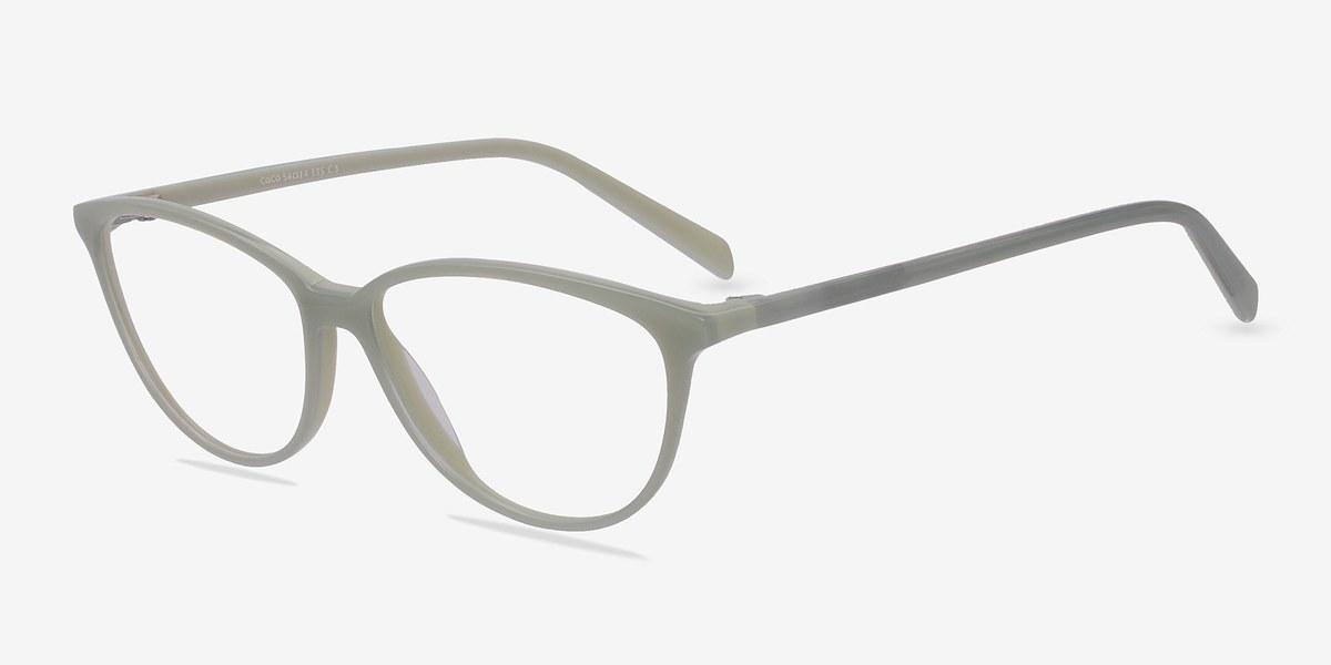 Coco | Green | Women Acetate Eyeglasses