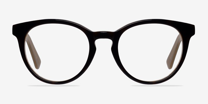 Brown Stanford -  Classic Acetate Eyeglasses