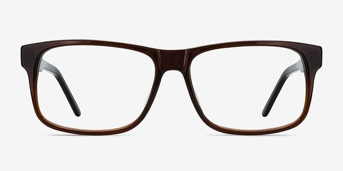 Brown Sydney -  Classic Acetate Eyeglasses