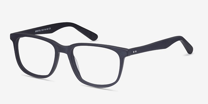 EyeBuyDirect Bristol Matte Navy Acetate Eyeglasses