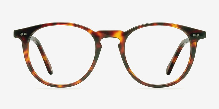 Warm Tortoise Prism -  Designer Acetate Eyeglasses
