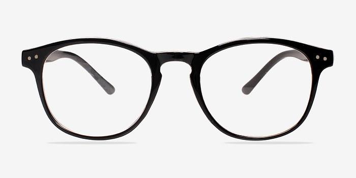 Clear/Black Instant Crush -  Fashion Plastic Eyeglasses